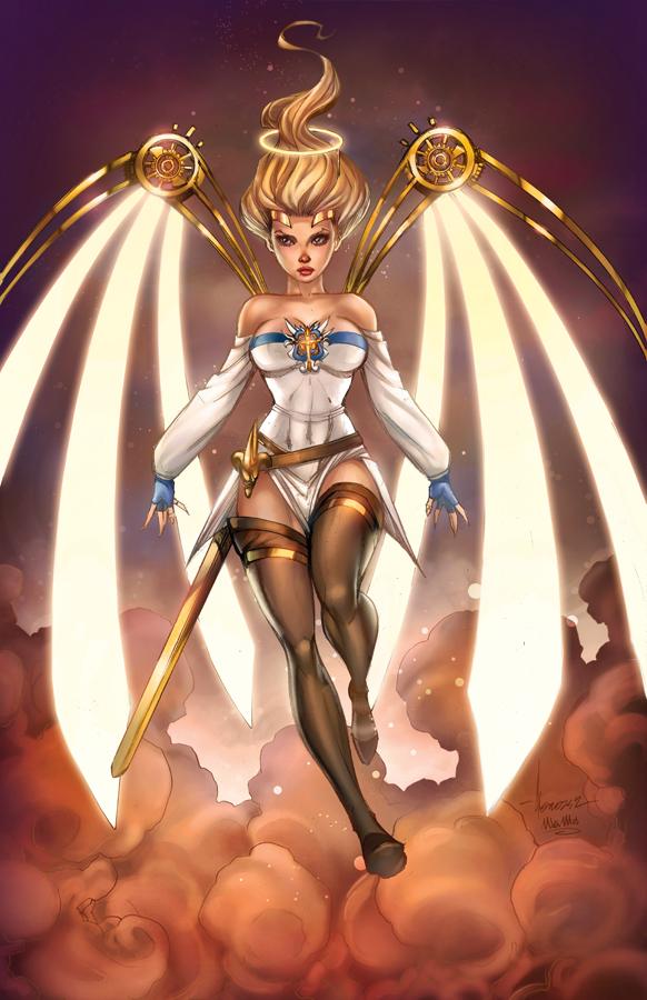 BDI Joan of Arc #1 exc, Ale Garza by sinhalite