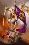 BDI Joan of Arc #3 AACC exc. L/E 300, D. McTeigue