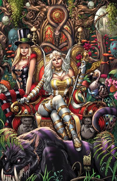 Zenescope Wonderland #10, M. Krome by sinhalite
