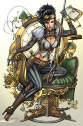 Lady Mechanika, M. De Balfo by ulamosart