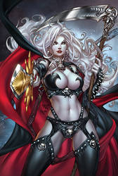 CC LadyDeath Echoes 1'nice', pencils: P.Pantalena