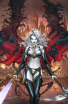 CC Lady Death ChaosRules #1, pencils: P. Pantalena