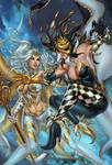 Zenescope GFT White Queen#3, pencils: P. Pantalena