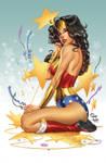 Wonder Woman, pencils: M. DeBalfo