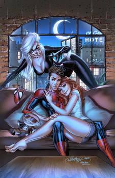 Marvel ASM RenewYourVows,pencils:J. Scott Campbell