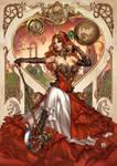 Zenescope GFT Steampunk: Alice, pencils: M. Krome