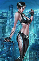 Catwoman, pencils: R. Kincaid by ulamosart
