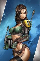 Zenescope Art of cosplay, pencils: P. Green