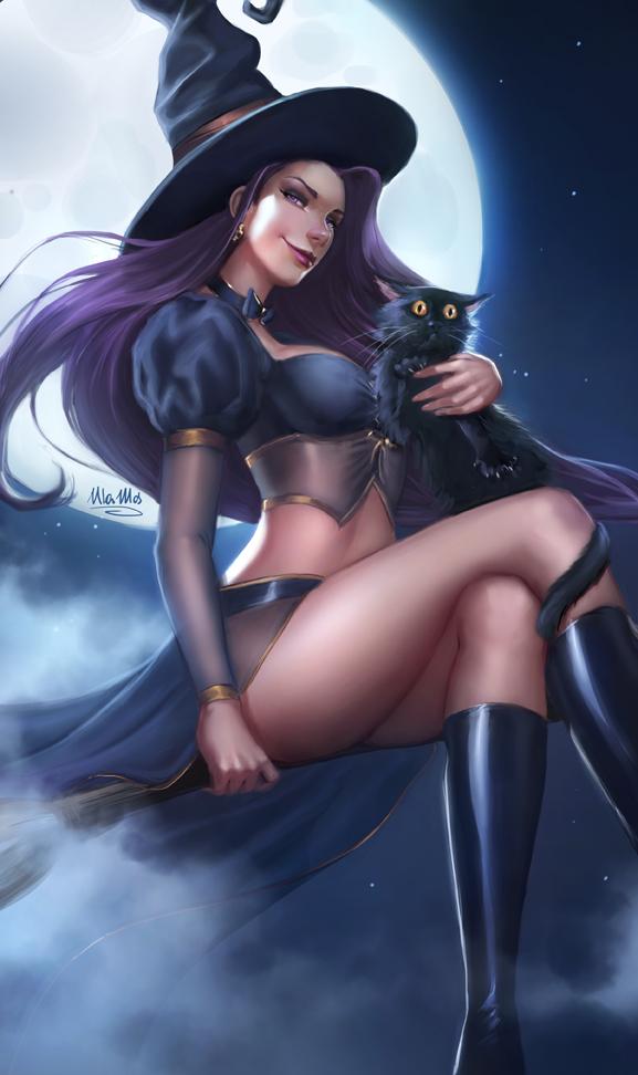 Halloween 2017 Witch by ulamosart