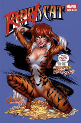 MARVEL Black Cat ASM 607 J. Scott Campbell