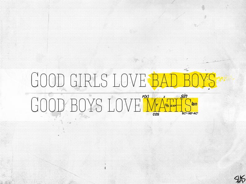 Good boys love maths 1 by Hatem-DZ