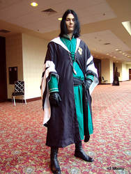 Snape the Quidditch Referee by brewing-trouble