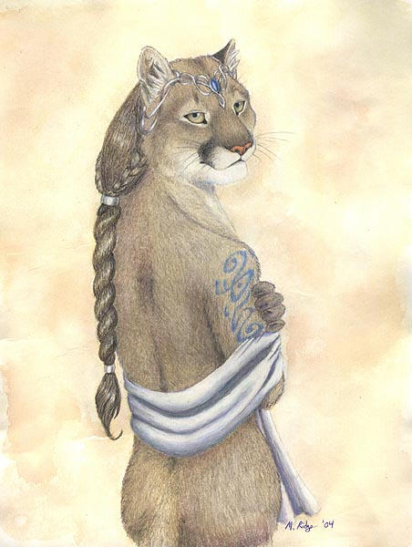 Cougar Woman by brewing-trouble on DeviantArt