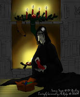Snape's Christmas... by brewing-trouble