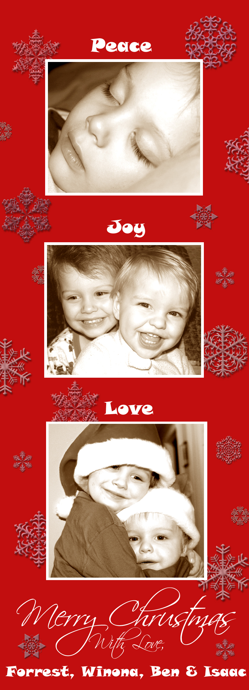 Christmas Card '06 by Bens-Momma