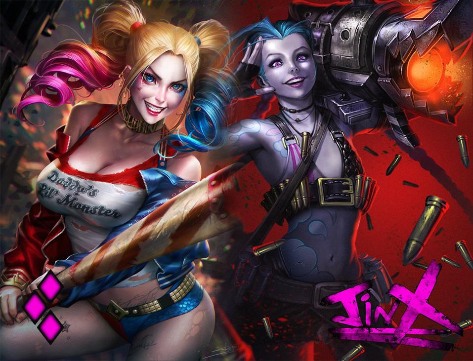Harley Quinn X Jinx