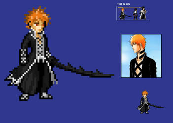Ichigo 2nd Bankai (FullbringArc) JUS :WIP: by ANGI1997