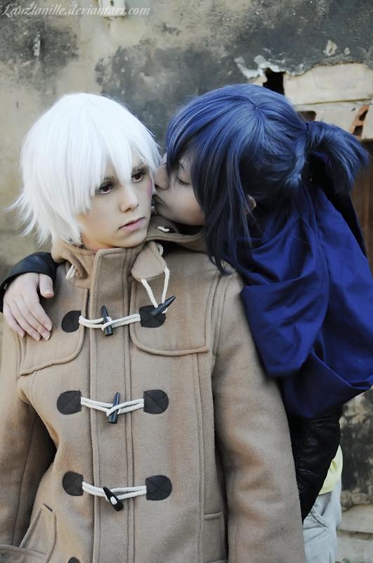 Nezumi x Shion kiss No.6 by LauzLanille