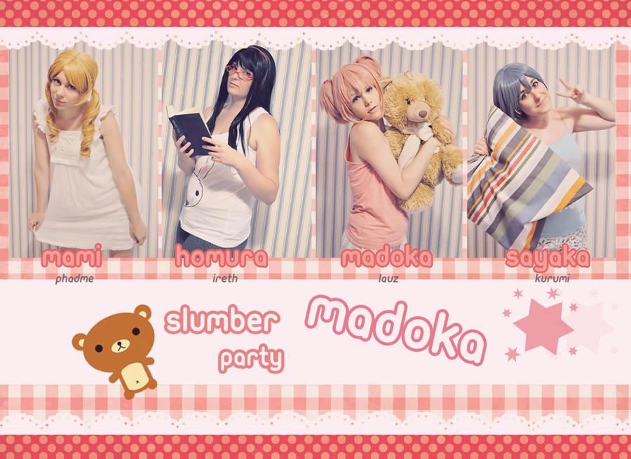 Madoka Slumber Party by LauzLanille