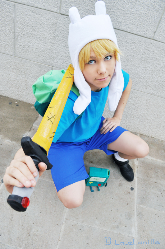 Finn Adventure Time by LauzLanille