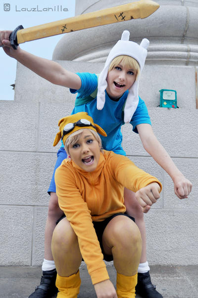 Finn and Jake 02 by LauzLanille