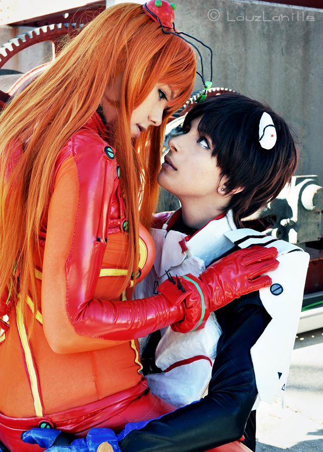 Asuka x Shinji by LauzLanille