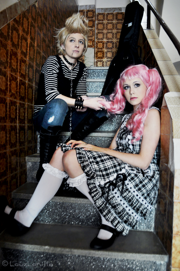 Miwako and Arashi Paradise Kiss by LauzLanille