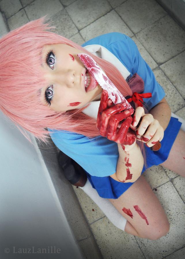Gasai Yuno Knife Yuno Gasai 05 by LauzL...