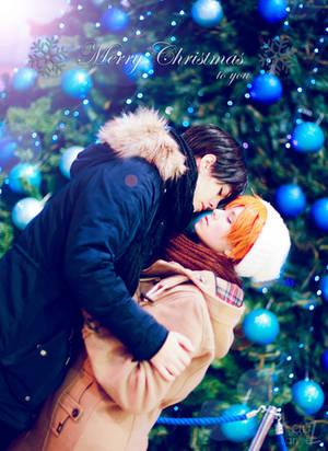 Merry Christmas! Kagehina by LauzLanille