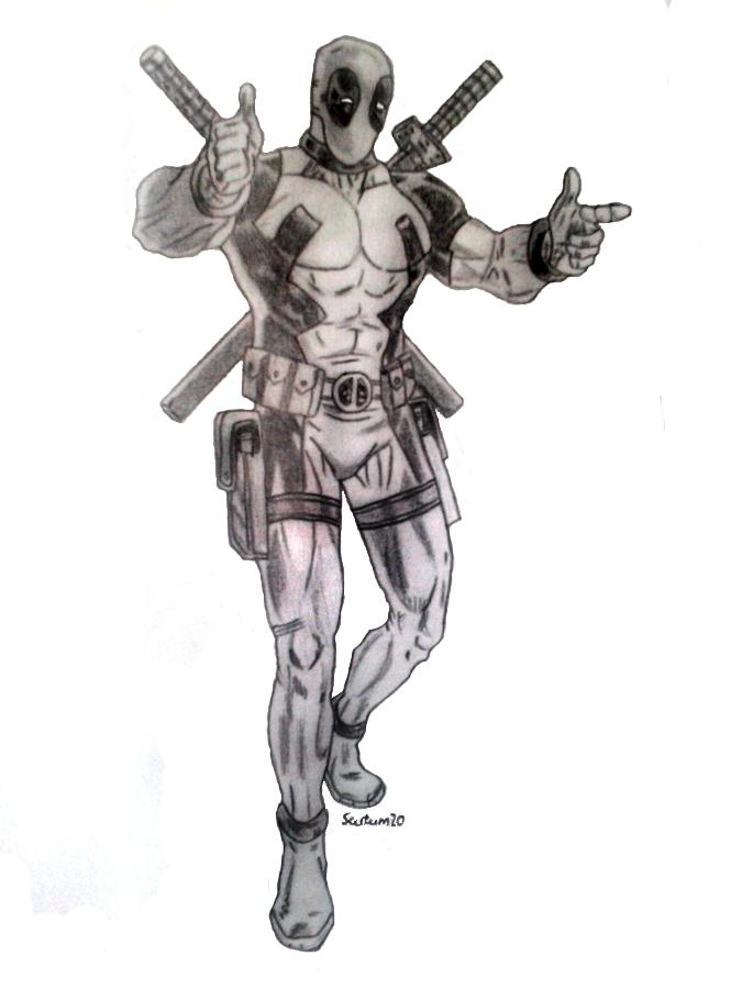 Deadpool by Scutum20