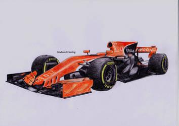 McLaren Honda MCL32 by Scutum20