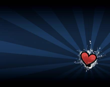 a vibrant heart.