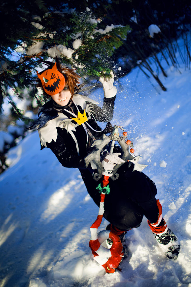 Sora Kingdom Hearts Halloweentown by Midgard1612