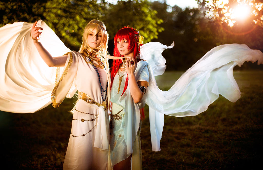 Ganymed and Apollo - Olimpos Cosplay
