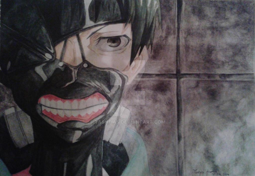 Ken Kaneki (Tokyo Ghoul) by TashfiaS