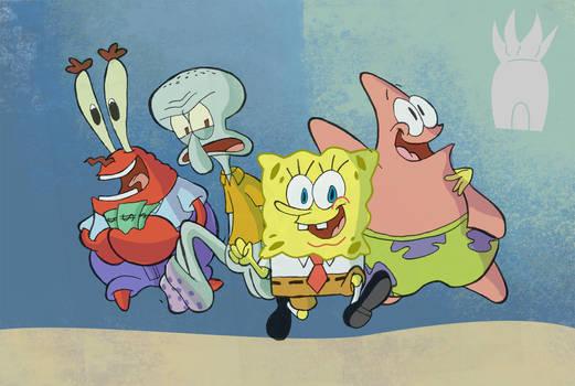 Year 06 - Spongebob Squarepants Series