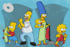 Year 06 - The Simpsons Series by SuperLeviathan