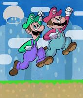 Year 06 - Super Mario Bros. by SuperLeviathan