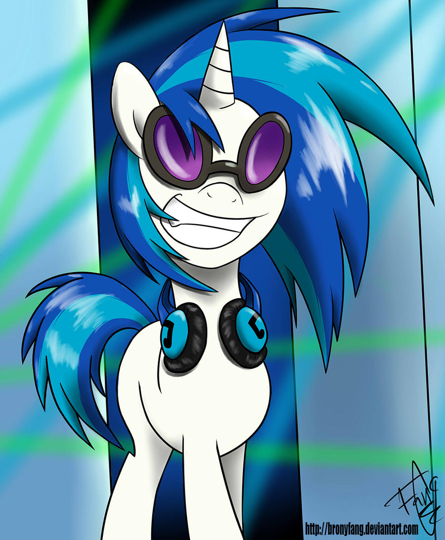 Vinyl Scratch by BronyFang