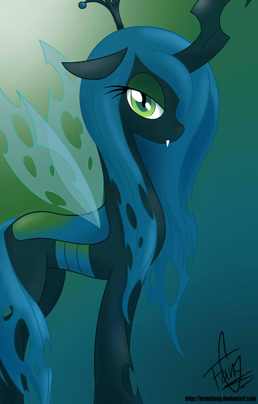 Queen Chrysalis by BronyFang