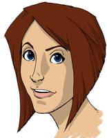 Val Portrait by SidekickGirl
