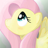 Fluttershy's Portrait by Popprocks