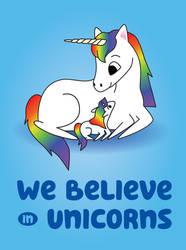 Believed in unicorns