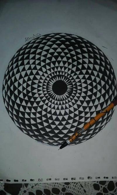geometric eye... by salsabeelAhmed