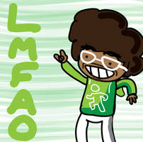 LMFAO RedFoo by D34thMonk3y
