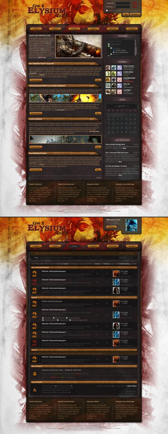 Guild Wars 2 Clan Design