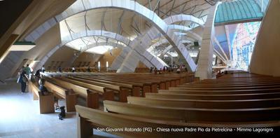 20070821 - Chiesa nuova di Padre Pio da Pietre by yuppymimmi