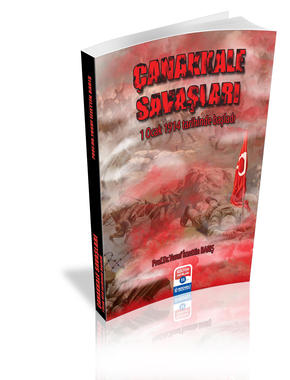 Çanakkale Savaşları Kitap Kapağı