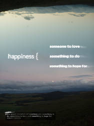 Happiness by nortago
