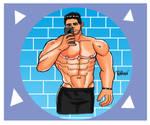 Man of week - Junior Albuquerque 10. by RomarioDesign